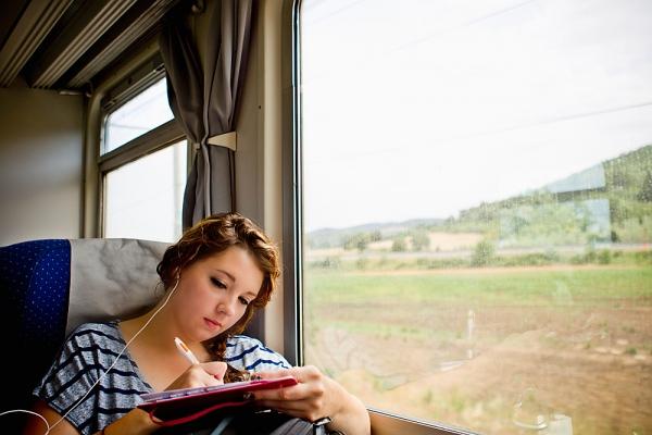 viajando con audiolibro de literaudio